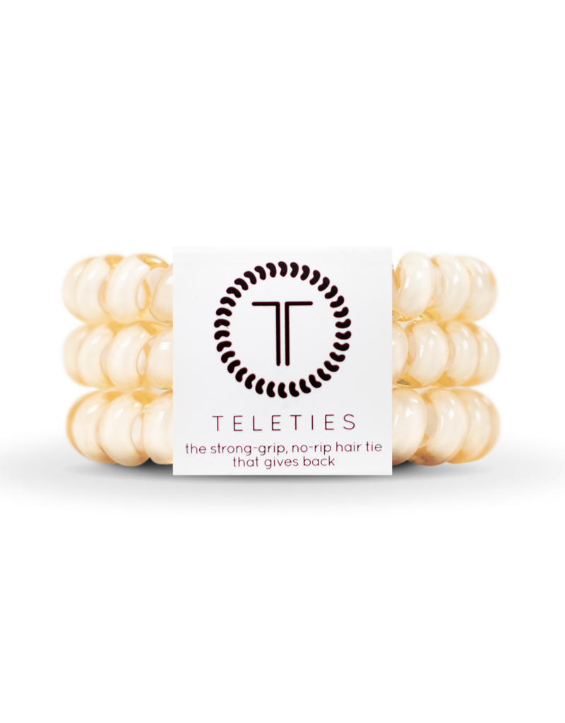 Teleties Teleties Almond Beige 3 Pack - Large