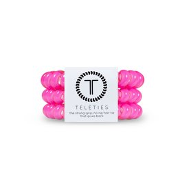 Teleties Teleties Hot Pink 3 Pack - Large
