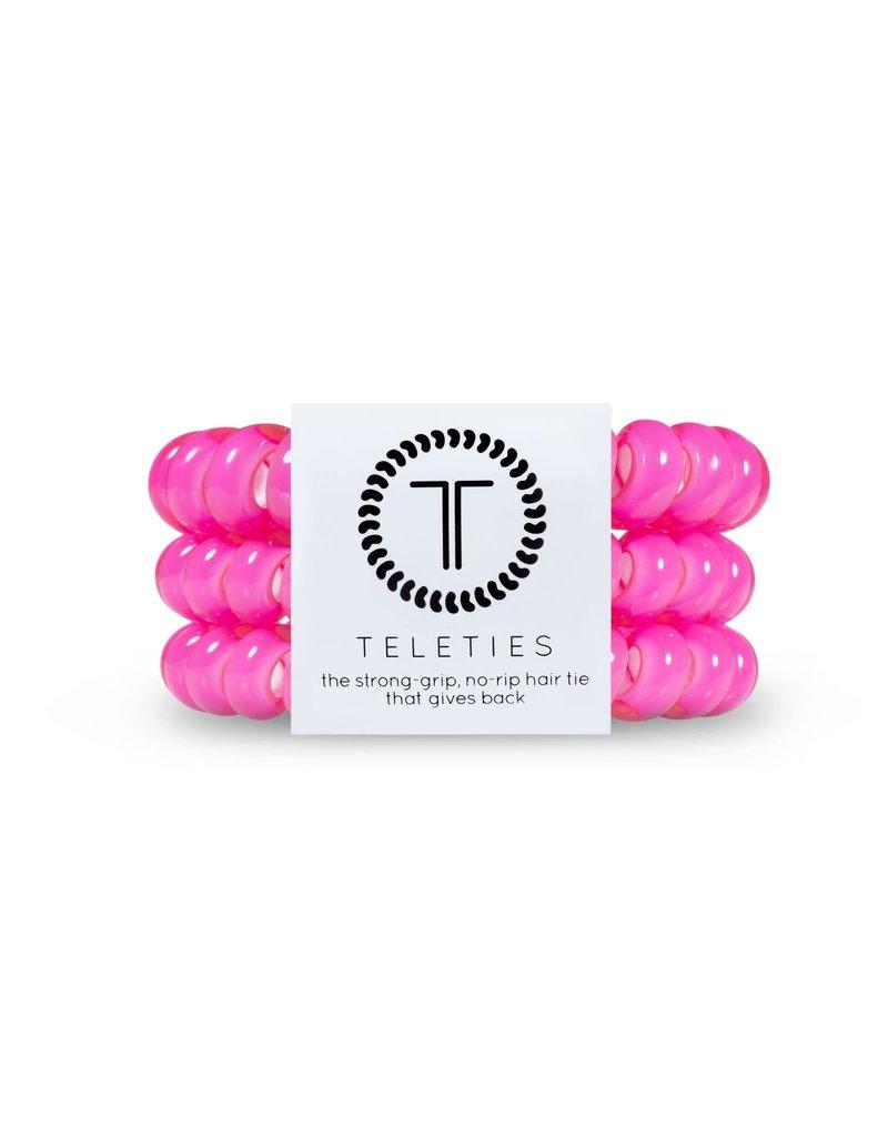 Teleties Teleties Hot Pink 3 Pack - Large