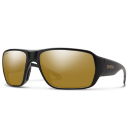Smith Smith Castaway Matte Black Gold Chromapop Polarized Bronze Mirror