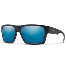 Smith Smith Outlier XL 2 Matte Black Chromapop Polarized Blue Mirror