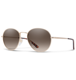 Smith Smith Prep Matte Gold/Polarized Brown Gradient