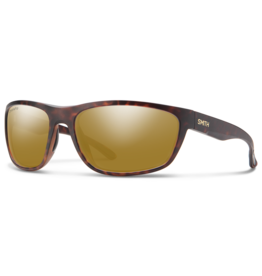 Smith Smith Redding Matte Dark Amber Tortoise Chromapop Polarized Bronze Mirror