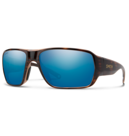Smith Smith Castaway Tortoise Chromapop Glass Polarized Blue Mirror