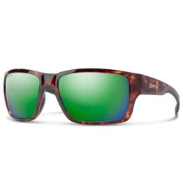 Smith Smith Outback Tortoise Copper Polarized Green Mirror