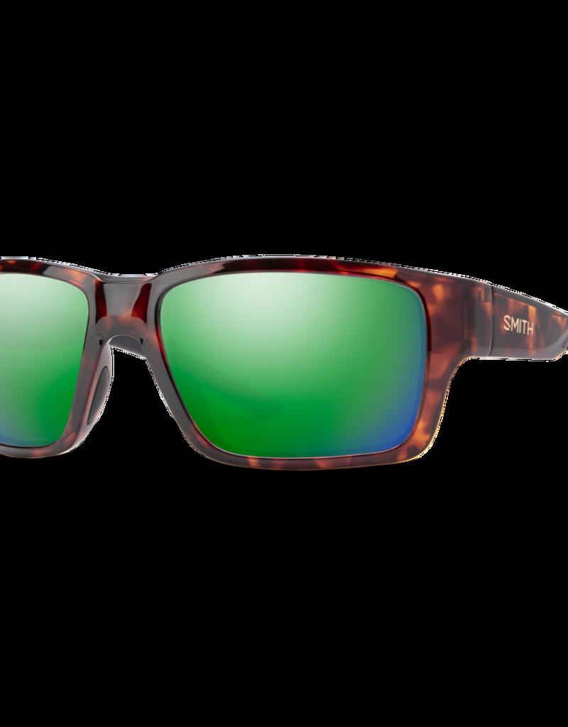 Smith Smith Outback Tortoise Copper Polarized Green Mirror