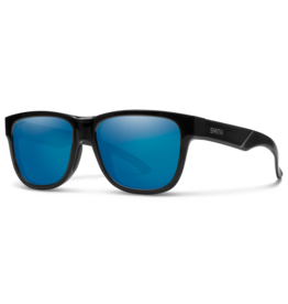 Smith Smith Lowdown Slim 2 Black Chromapop Polarized Blue Mirror