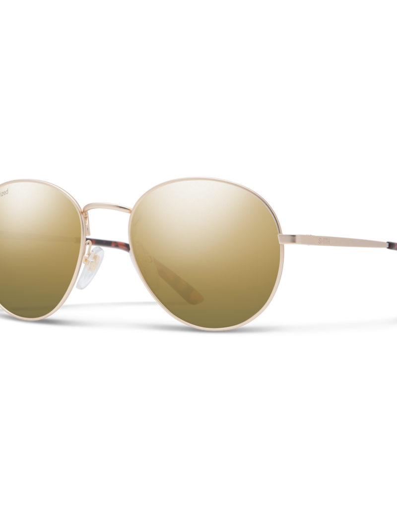 Smith Smith Prep Gold/Polarized Gold Mirror