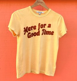 Junk Food Junk Food Here for a Good Time Tee