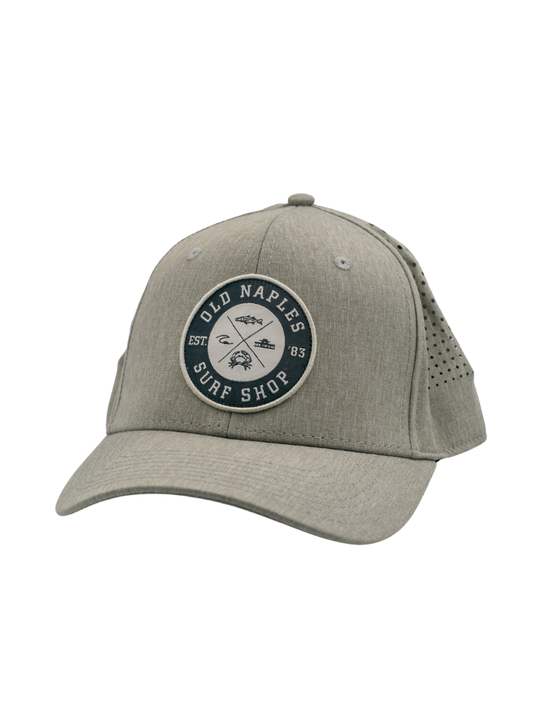 Old Naples Surf Shop ONSS All Around Tech Hat