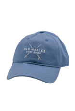 Old Naples Surf Shop ONSS Crossed Boards Dad Hat