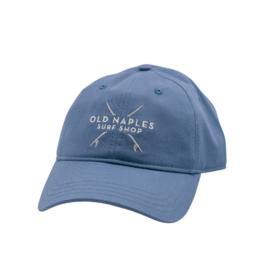 Old Naples Surf Shop ONSS Crossed Boards Dad Hat