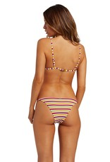 Volcom Volcom Stripe While Haute Skimpy Bikini Bottom