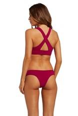 Volcom Volcom Simply Seam Cheeky Bikini Bottom
