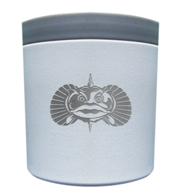 Toadfish Outfitters Toadfish Anchor Non-tipping Any-beverage Holder - White