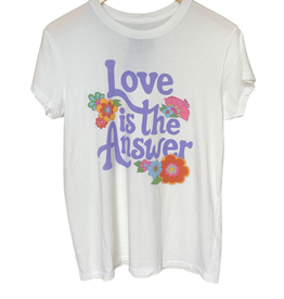 Junk Food Junk Food Love is the Answer Tee