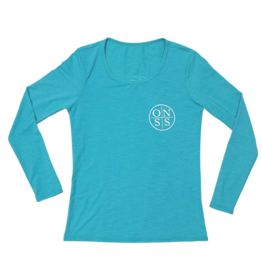 Old Naples Surf Shop ONSS Ladies Long Sleeve Lycra Shirt
