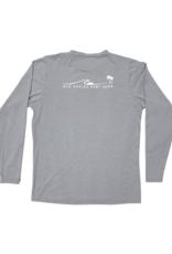 Old Naples Surf Shop ONSS Men's Long Sleeve Lycra Shirt
