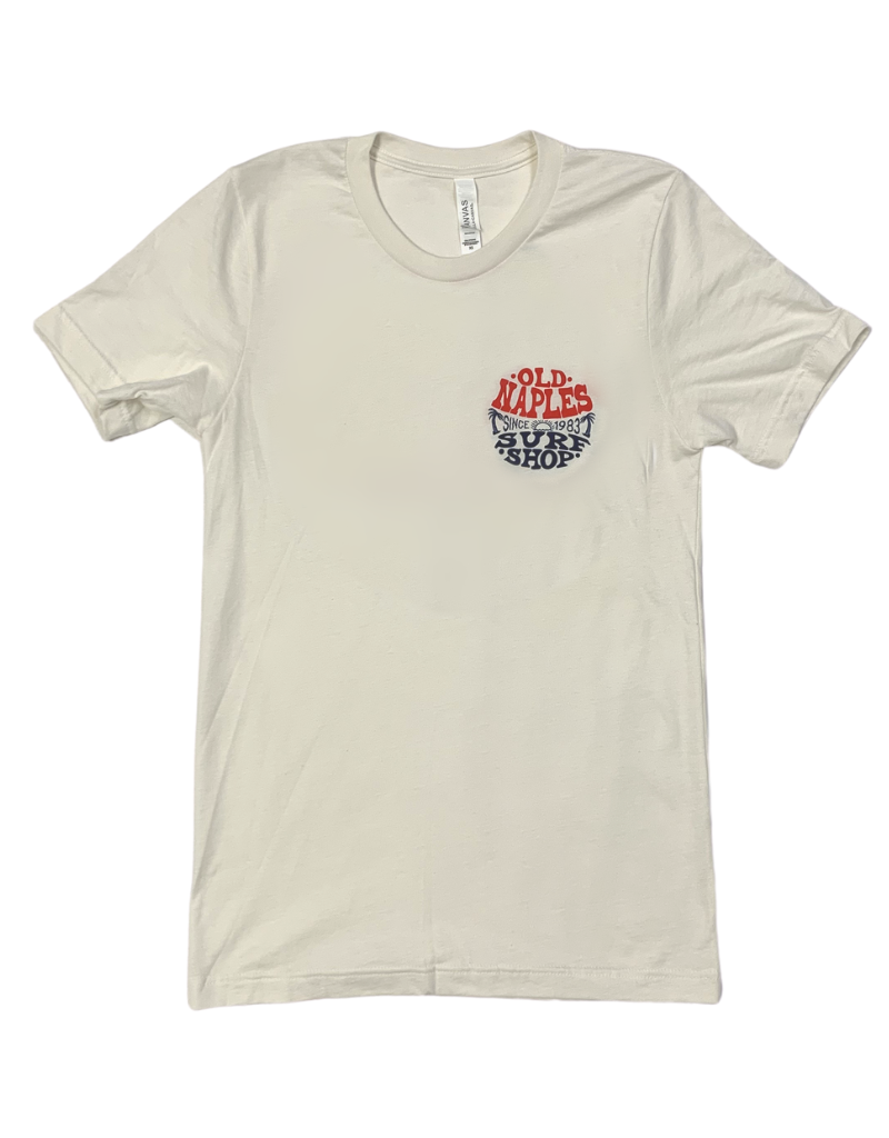 Old Naples Surf Shop ONSS Groovy Circle T-Shirt