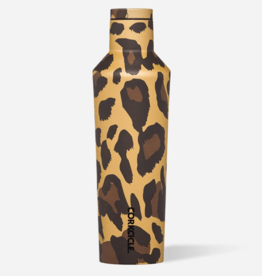 Corkcicle 16oz Canteen - Luxe Leopard