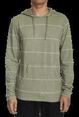 RVCA RVCA PTC Stripe Hooded Long Sleeve Tee