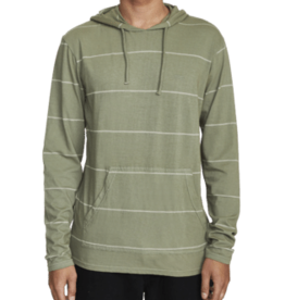 RVCA RVCA PTC Stripe Hooded Long Sleeve Tee