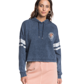 Roxy Roxy Free In The Sea Cropped Hoodie