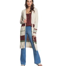 Roxy Roxy Violet Breeze Longline Knitted Cardigan