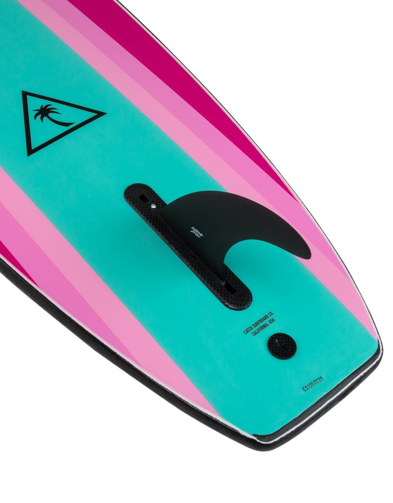 Catch Surf 8'6 Noserider-Single - Black Top/Turquoise Bottom