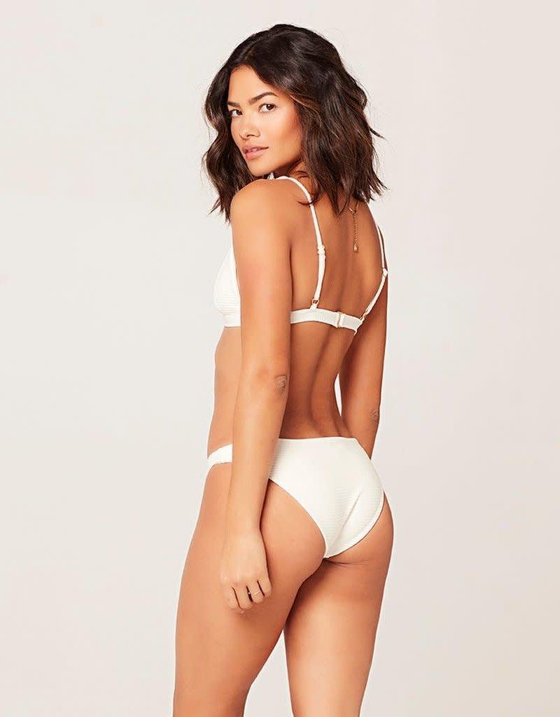 L*Space L*Space Eco Chic Repreve Sol Bikini Bottom