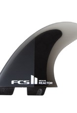 FCS FCS II Reactor Performance Core Tri Fin Set - Charcoal/Black