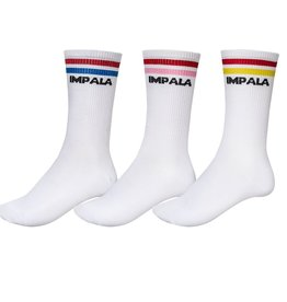 Impala Stripe Socks 3 Pack - Multi