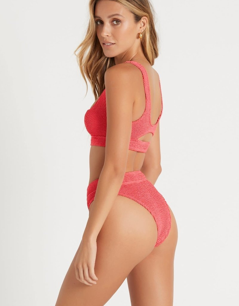 Bond-Eye Australia BOUND by Bond-Eye The Sasha Cutout Ribbed Bikini Top