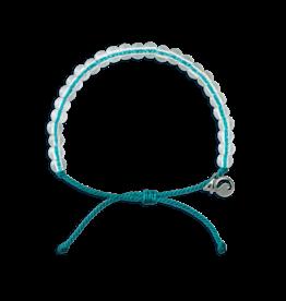 4Ocean 4Ocean White-Sided Dolphin Bracelet - Turquoise