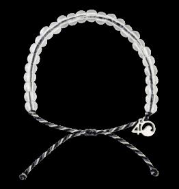 4Ocean 4Ocean Great White Shark Bracelet - Gray, White & Black