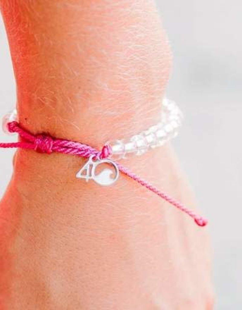 4Ocean 4Ocean Flamingo Bracelet - Pink