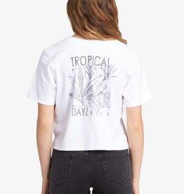 Roxy Roxy Tropical Dayz Cropped T-Shirt