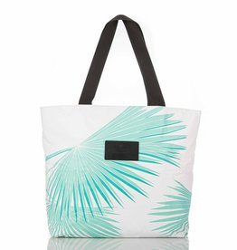 Aloha Collection Aloha Tropical Fan Palms Day Tripper Pool/White