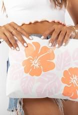 Aloha Collection Aloha Mid Big Island Hibiscus Dreamsicle/White