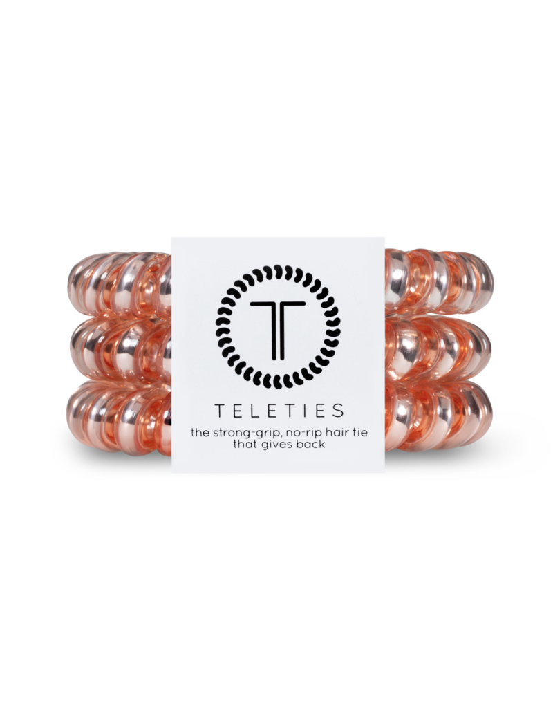 Teleties Teleties Millenial Pink 3 Pack - Large