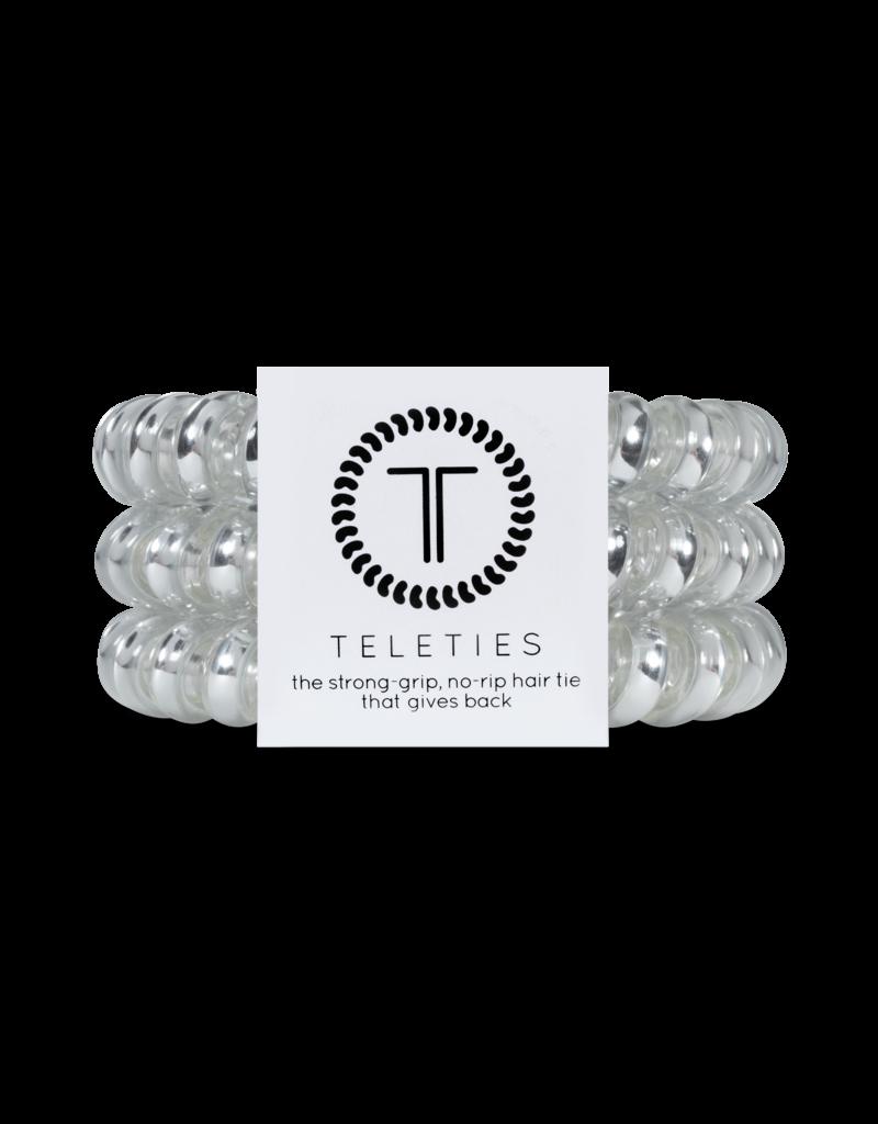 Teleties Teleties Electric Silver 3 Pack - Large
