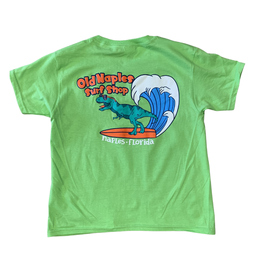 Old Naples Surf Shop ONSS Kids Surfing Rex T-Shirt