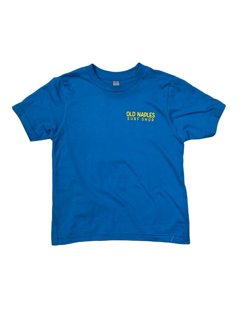 Old Naples Surf Shop ONSS Kids Old School Boards T-Shirt