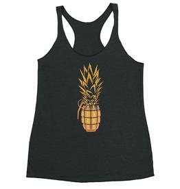 Saltwater Syndicate Saltwater Syndicate Pineapple Grenade Tank Top