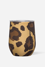 Corkcicle Corkcicle Stemless - 12oz Luxe Leopard