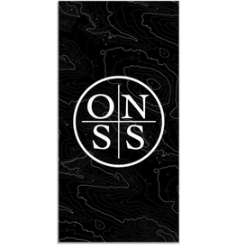 Old Naples Surf Shop ONSS Large Beach Towel