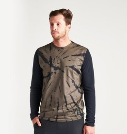 Roark Roark Willow Atlas Long Sleeve Tie Dye Tee