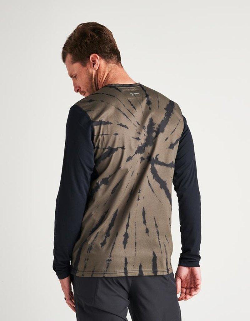 Roark Roark Willow Atlas Long Sleeve Tie Dye Tee