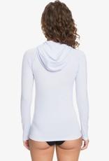 Roxy Roxy Essentials - Long Sleeve Hooded UPF 50 Zipped Rashguard