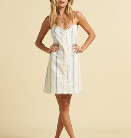 Billabong Billabong x The Salty Blonde Sunny Stripes Dress